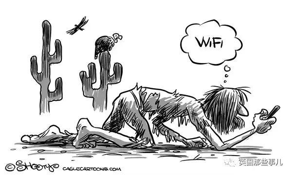 隨便連了個免費wifi,居然要被罰去刷廁所?英國人這個陷阱真的太深了!