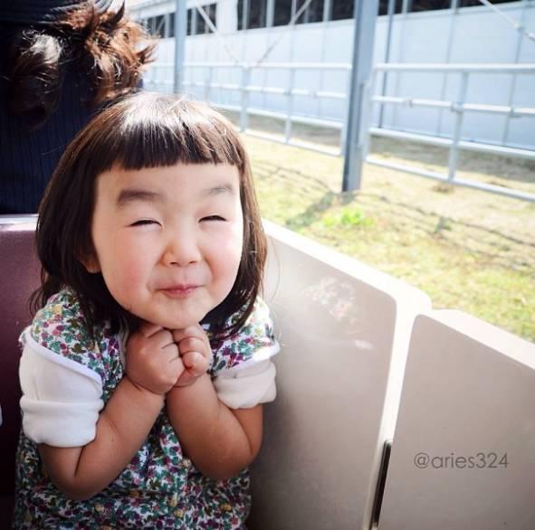 日本這個4歲女孩靠「...」火遍全球,你就是我想要的傻丫頭!