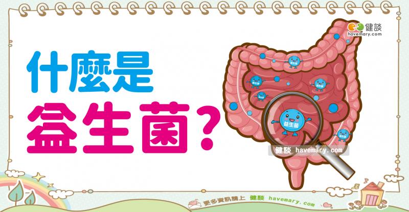 腸道菌叢,益生菌,益生菌菌種,益生菌好處,腸道好菌,免疫系統,Probiotics,健談,健談網,havemary